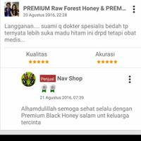 PREMIUM Fresh Raw Black Honey ( Madu Hitam Hutan Organik) ..