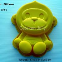 Cetakan Kue / Puding Little Monkey