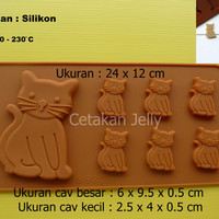 Cetakan Coklat Kitten