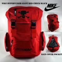 RANSEL NIKE HYPERVENOM GIANT RED CHECK BLACK