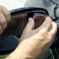 Total view adjustable blind spot mirror - kaca spion ta