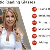 Kacamata baca magnet kalung Unik Keren dan Tidak Mudah Hilang