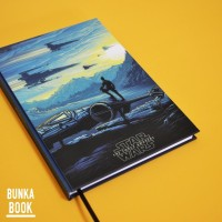 Note Book FIlm Star Wars Wallpaper (A) Hardcover