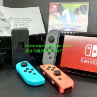 Nintendo Switch (N Switch / NS) - Neon Blue / Neon Red (TANPA Game)