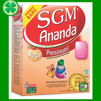 SGM Ananda SOYA 1 200 Gram Susu Formula Bayi Usia 0-6 Bulan Murah