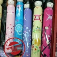 Jual Payung Botol Oshin / i-Deco / Maiko / Geisha / Karakter Murah
