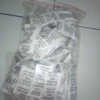 silica gel white sachet @ 2 gram 1 pack isi 100 sachet termurah