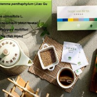 Teh Hijau Green Tea Alami Herbal Asam Urat Tiens Jiang Zhi Tea
