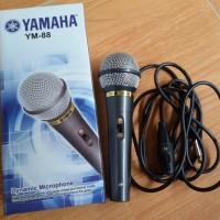 MIC / MICROFON / DYNAMIC MICROPHONE YAMAHA YM-88 + KABEL MURAH
