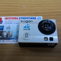 Kogan Action Camera 4k Ultrahd 16mp Putih Wifi Like Gopro Kamera Out