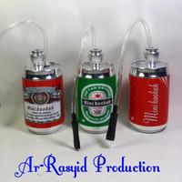Water Pipe / Bong Air Filter Rokok / Mini Hookah Model Kaleng Minuman