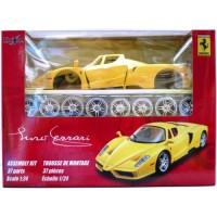 Diecast maisto Assembly Kit 1:24 - Enzo Ferrari kuning