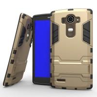 Premium Anti Knock Slim Hybrid Armor Bumper Case iron man LG G4