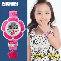 Jam Tangan Anak Perempuan SKMEI 1144 Pink Original Anti Air