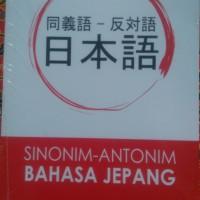 Sinonim Antonim Bahasa Jepang