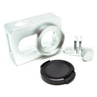 Jual Aluminum Protective Case casing Cover Pelindung Xiaomi Yi CNC Screw Murah