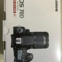 canon eos 70d (w) kit 18-55mm