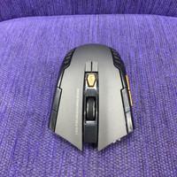 Mouse Wireless Gaming 2,4GHz 1600DPI GREY Laptop Desktop
