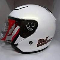 Helm KYT Dj Maru Putih Polos