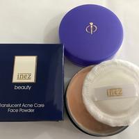 Inez Beauty Translucent Acne Care Face Powder 15g | Bedak Jerawat