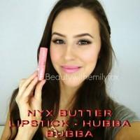 nyx butter lipstick hubba bubba