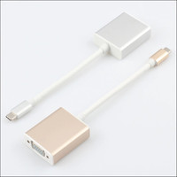 USB-C to Female VGA Adapter For New Macbook 12 / pro infocus