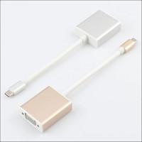 USB-C to Female VGA Adapter For New Macbook 12 / pro infocus