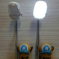 Lampu Meja / Lampu Baca LED One Piece Kuning