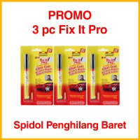 3 pcs Fix It Pro with Packaging - Spidol Penghilang Lecet