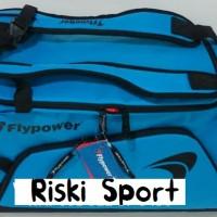 Tas Badminton / Travel Flypower Borneo Blue/Black (New 2017)