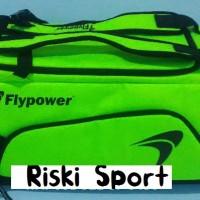 Tas Badminton / Travel Flypower Borneo Green/Black (New 2017)