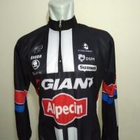 Kaos / Jersey Sepeda / Baju Lengan Panjang Roadbike Giant B035