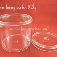 Toples tabung pendek 0.2kg (12pcs)