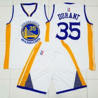Jersey / kostum basket NBA Golden State Warriors home / putih