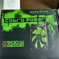 Power Supply Raidmax RX-500AF-B 500W - 80+ Bronze