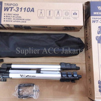 JUAL Tripod Weifeng WT-3110A Free Holder U For Smartphone HP Kamera DS