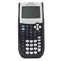 Texas Instruments TI-84 Plus Graphing Calculator B/W