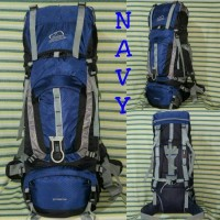 Carrier Tas Gunung Keril Sioux 60L Navy Asli Not Eiger, Deuter