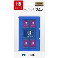 NINTENDO SWITCH HORI CARD CASE 24+2 BLUE