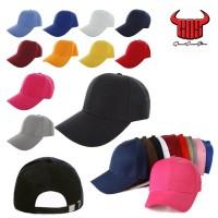 Jual TOPI BASEBALL POLOS / TUMBLR CAP PENGAIT BESI / CAKOP BESI TERMURAH Murah