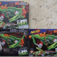 NERF Zombie Strike - OUTBREAKER BOW / Crossbow / Pistol panah