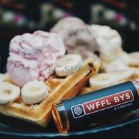PROMO WFFL BYS - banana split waffel eliquid 60ml 3mg TERLARIS