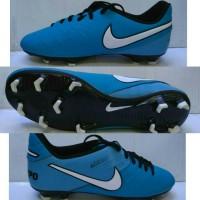 Sepatu Bola Nike Tiempo Legend Biru list Putih Grade Ori