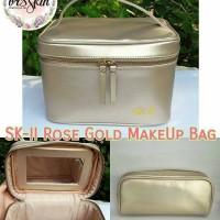 SK-II Rose Gold Makeup Bag Buy 1 get 2 free