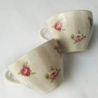 harga Modern Rose Grey Teacup Tokopedia.com