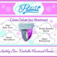 Padmia Ananda Celana Dalam Menstruasi   Pembalut Kain Cuci Ulang