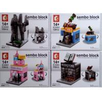 LEGO BRICK SEMBO SD 6030-33 MINI STREET STORE SET ISI 4