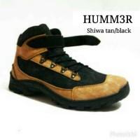 harga Sepatu Boots Tracking Pria Hummer Gunung Tour Kerja Lapangan Tan Blac Tokopedia.com