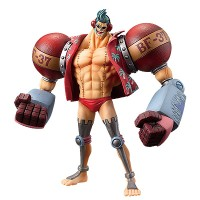 Action Figure One Piece DXF Grandline Franky luffy ace sabo