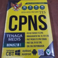KISI2 RESMI TES CPNS TENAGA MEDIS BONUS 2IN1